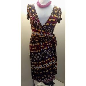 Bisou- Bisou wrap around dress